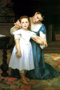 Bouguereau-The_shell
